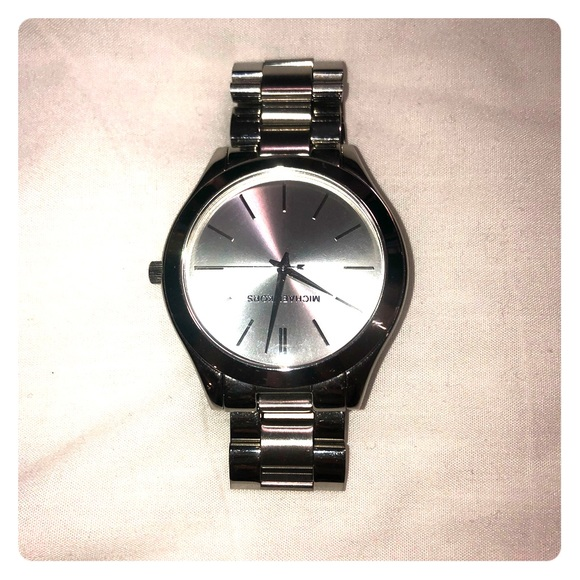 Michael Kors Accessories - Michael Kors Silver watch.